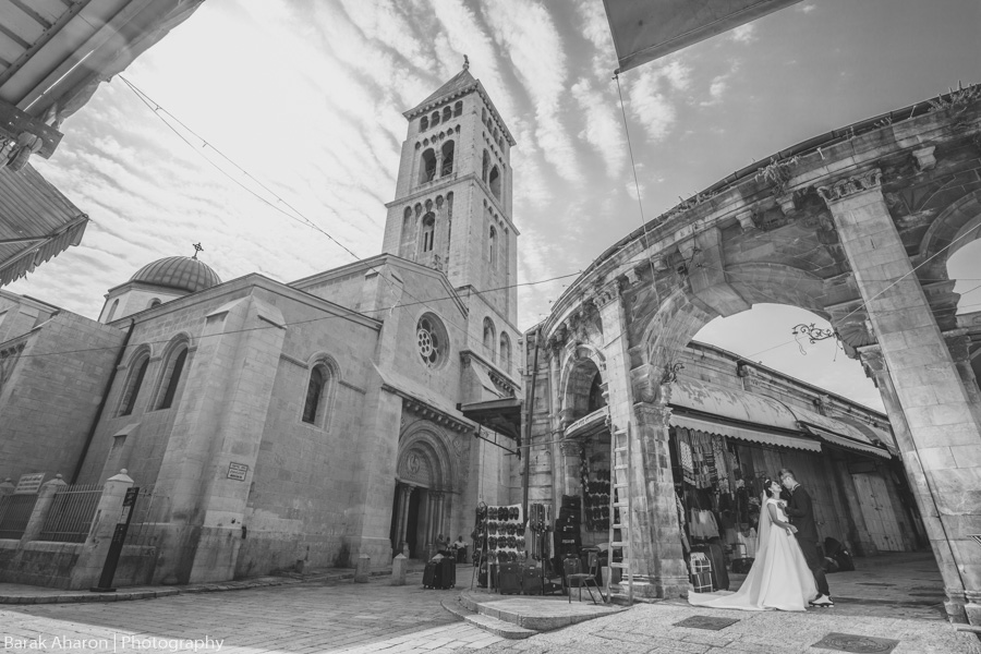Elaine and Dov's Engagement Photos in Jerusalem