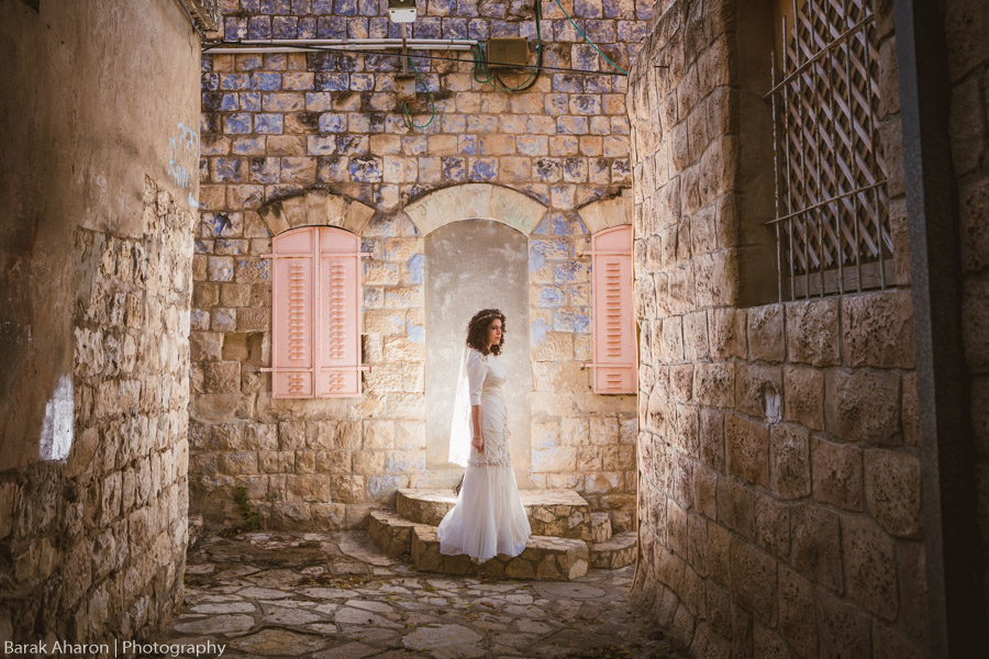 Blimi an Leib Wedding in Safed